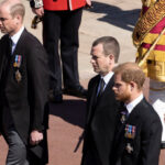 Prince William asked brother not to walk beside him